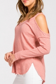 Cherish Dusty Pink Sweater - Product Mini Image