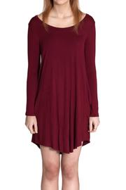 Cherish Elbow Patch Dress - Front full body