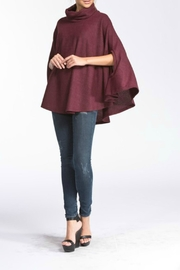 Cherish Emilia Burgundy Top - Product Mini Image