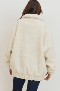 Cherish Fuzzy Bear Jacket - Alternate List Image