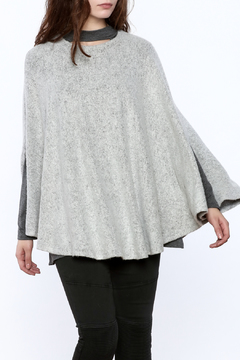 Shoptiques Product: Grey Poncho Top