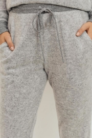 Cherish Heather Grey Jogger - Side cropped