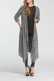Cherish Hemingway Pocketed Duster - Front full body