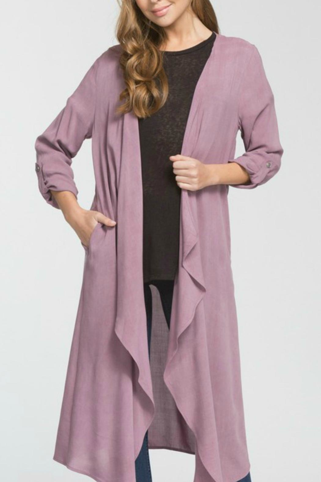 Cherish Hemingway Pocketed Duster - Main Image