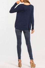 Cherish High Low Top - Side cropped