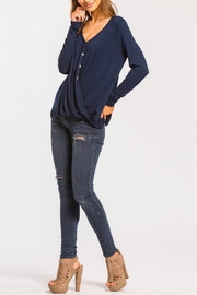 Cherish High Low Top - Front cropped