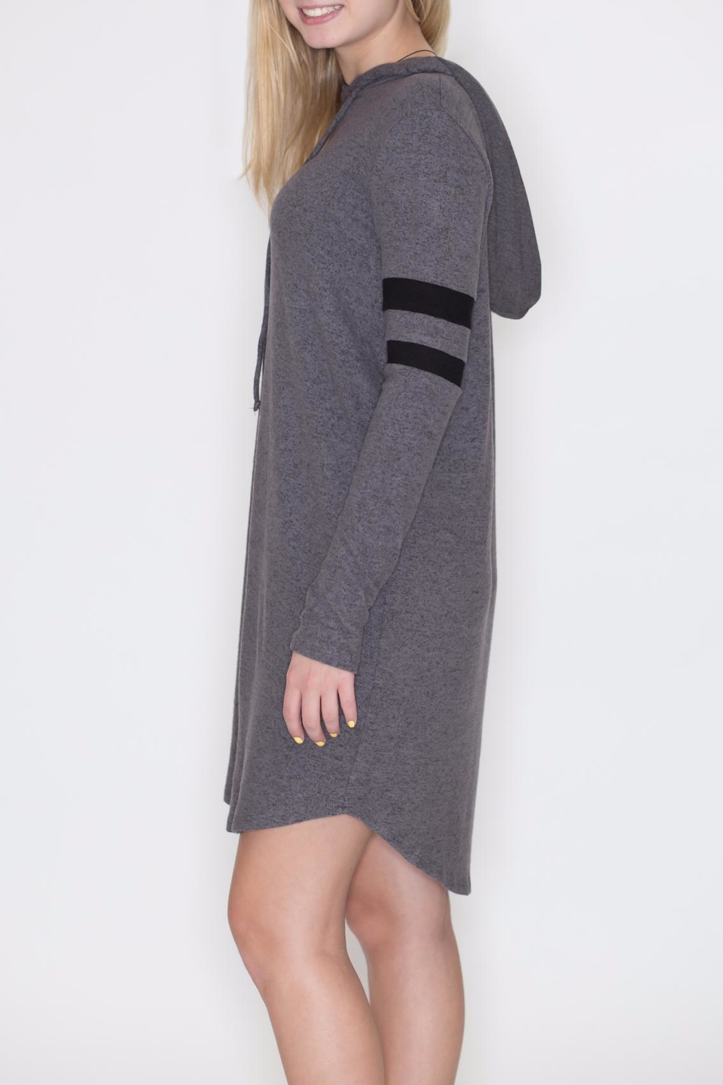 Cherish Hoodie Dress - Front Full Image