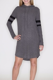 Cherish Hoodie Dress - Front cropped