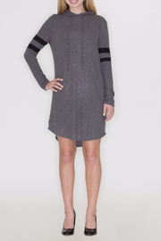 Cherish Hoodie Dress - Back cropped