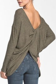 Cherish Knot Back Top - Front full body