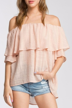 Shoptiques Product: Layered Off Shoulder Top