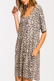 Cherish Leopard Pocket Tunic/dress - Product Mini Image