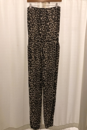 Cherish Leopard Print Jumpsuit - Product Mini Image