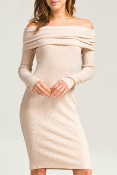Shoptiques Product: Long Sleeve Bodycon Dress