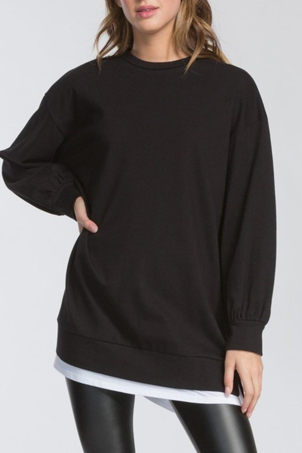Cherish Long Sleeve Top - Front Cropped Image