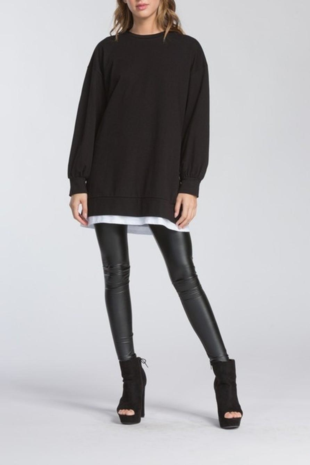 Cherish Long Sleeve Top - Side Cropped Image
