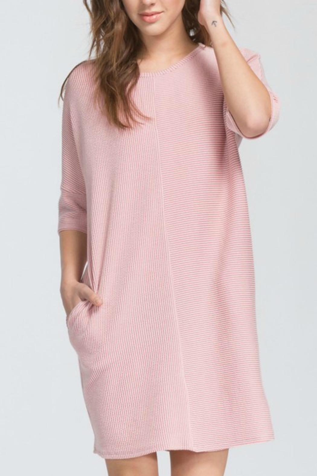 Cherish Loose Fit Dress - Front Cropped Image