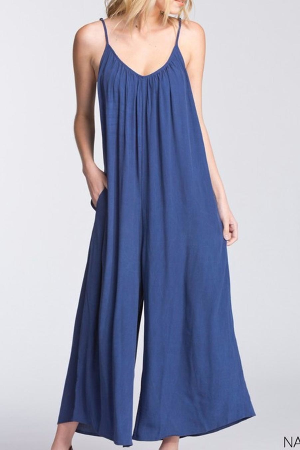 Cherish Loose Fit Jumpsuit - Front Cropped Image