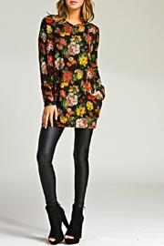 Cherish Loose Fit Tunic - Front cropped
