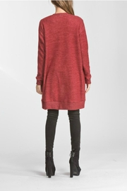 Cherish Naya Burgundy Cardigan - Front full body