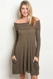 Cherish Off-Shoulder Dress - Product Mini Image