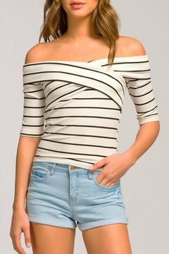 Shoptiques Product: Off Shoulder Fitted Top