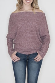 Cherish Off  Shoulder Sweater - Product Mini Image