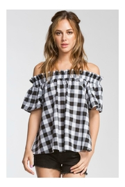 Cherish Off Shoulder Top - Front cropped