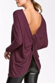 Cherish Open Back Top - Front cropped