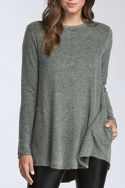 Cherish Pocket Sweater - Front cropped