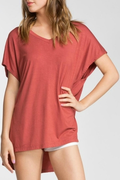 Shoptiques Product: Red Brown Top