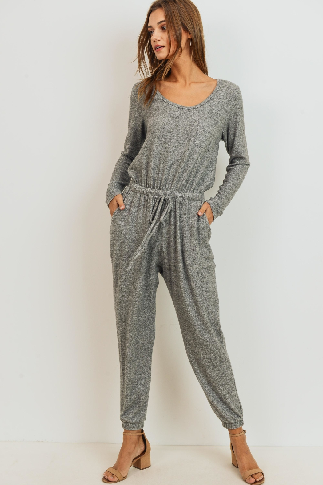 Cherish Relaxed Fit Jumpsuit - Main Image