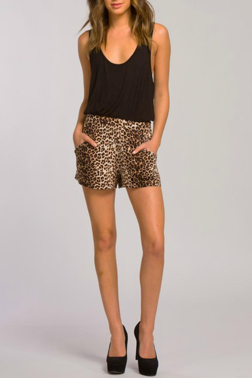 Cherish Romper With Pockets - Side Cropped Image