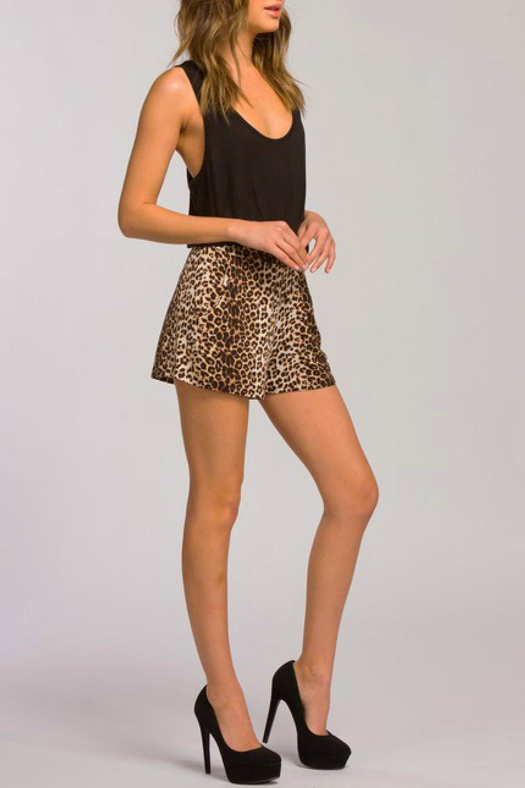 Cherish Romper With Pockets - Back Cropped Image