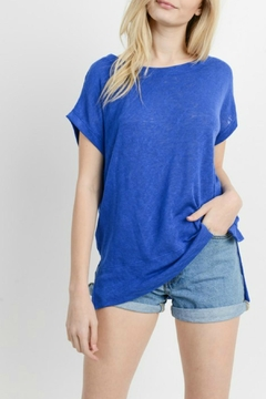 Cherish Royal Blue Top - Product List Image