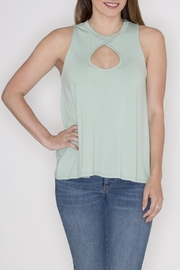 Cherish Sage Cutout Tank - Product Mini Image