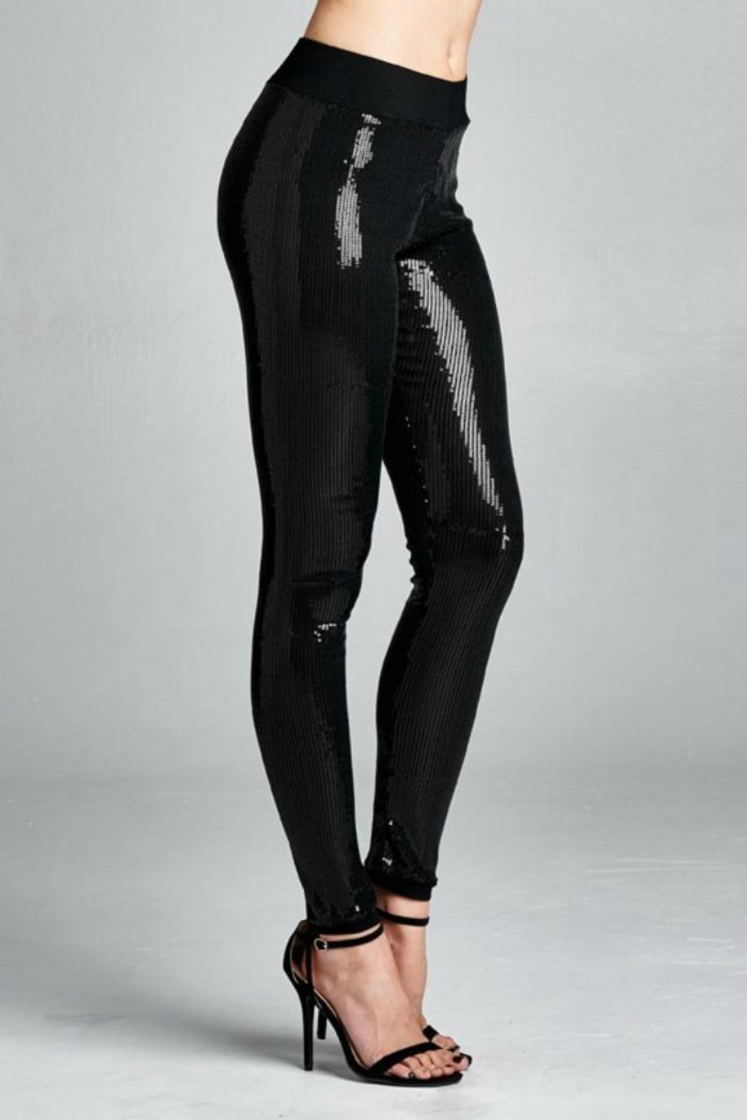 Cherish Sequin Leggings From Texas By Chili Peppers