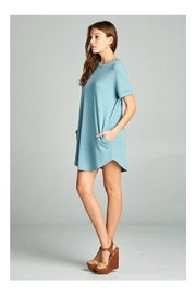 Cherish Short Sleeve Dress - Front full body