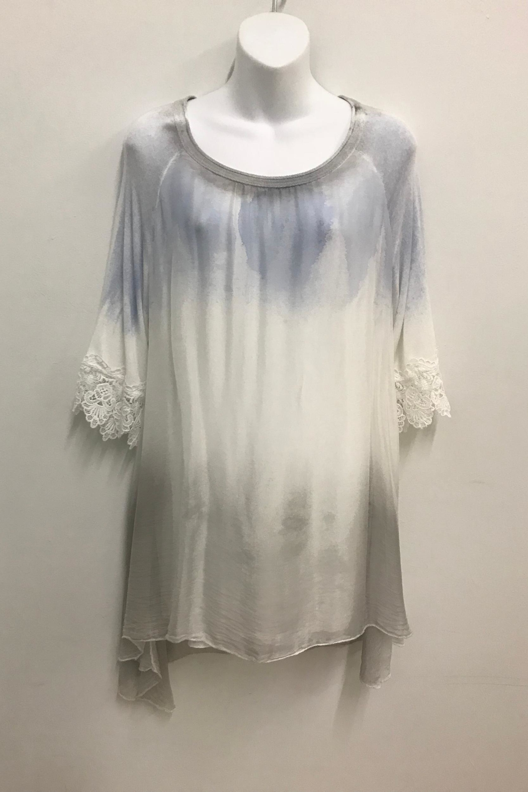 Cherish Silk Tunic - Front Cropped Image