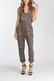 Cherish Sleevless Jumpsuit - Front cropped