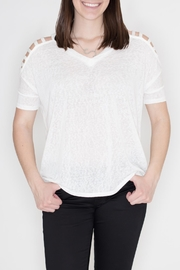 Cherish Strap Shoulder Top - Product Mini Image