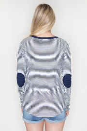Cherish Striped Patch Top - Side cropped