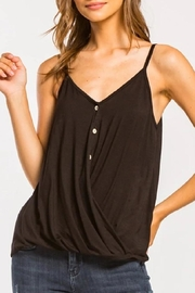 Cherish Surplice V-Neck Tank-Top - Product Mini Image