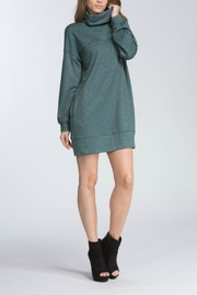 Cherish Sweater Shirt Dress - Product Mini Image