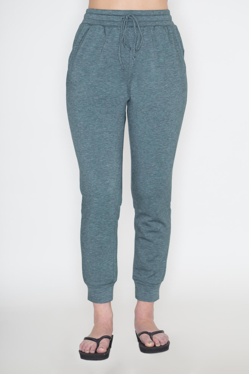 Cherish Sage Jogger Pants - Main Image