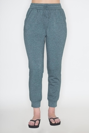 Cherish Sage Jogger Pants - Front cropped