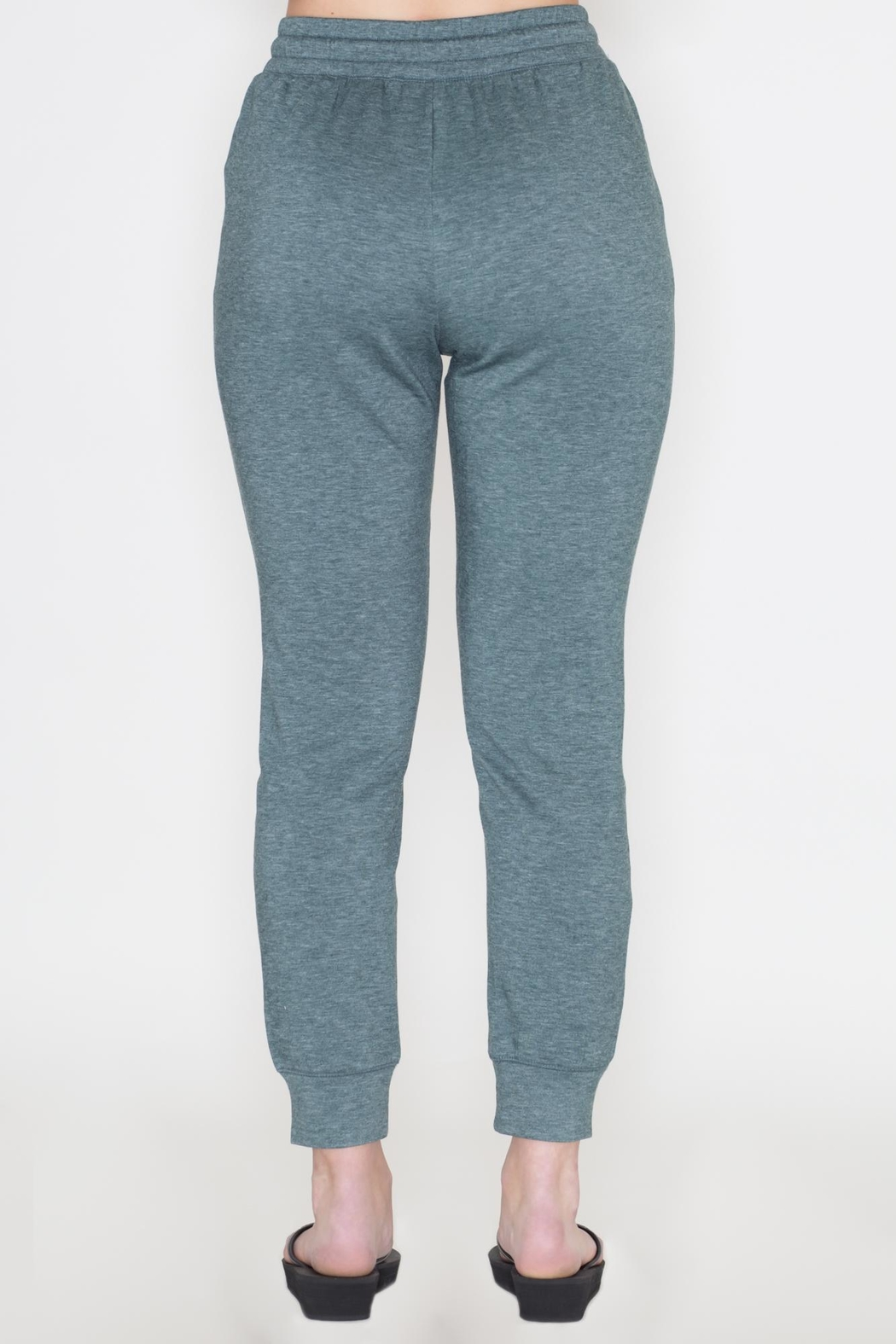 Cherish Sage Jogger Pants - Side Cropped Image