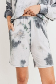 Cherish Tie-Dye Pocket Shorts - Product Mini Image