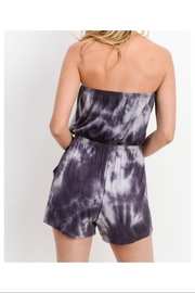 Cherish Tie Dye Romper - Back cropped