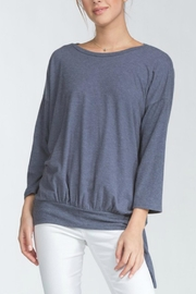 Cherish Tie Waist Top - Front cropped